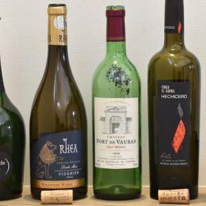 貴重なワインのお礼に、自宅酒。