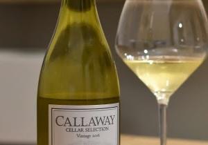 Callaway Cellar Selection Chardonnay 2016 / キャロウェイ・セラー・セレクション・シャルドネ 2016