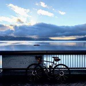 TADA Gravel:2020秋の信州 諏訪湖~霧ヶ峰へ。ライブカメラで遊ぶ