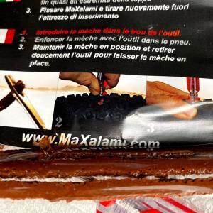 使ってみた:チューブレスタイヤ修理キット MaXalami Tubeless Repair