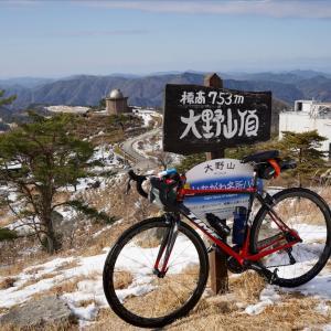TIME Fluidity:残雪の大野アルプスランド・猪名川天文台