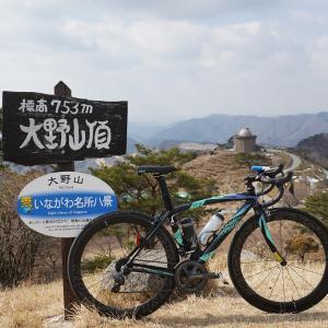 MUME:2021年2度目の大野山頂上で至福のコルネ