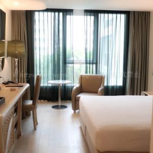 【タイ・バンコク夫婦旅行】宿泊ホテル① 好立地で小綺麗「ル タダ パークビュー ホテル」