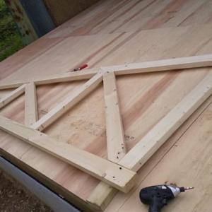 トラス屋根制作の検証