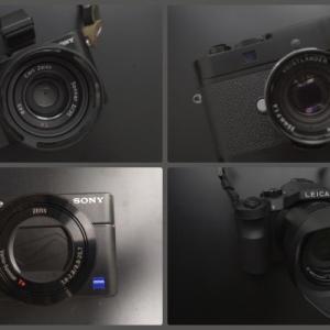 ソニーとライカの比較 RX-1、RX100Ⅳ、Leica M、Leica V-LUX の共通点と違い、その用途
