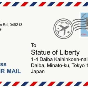 シンガポール 郵便局を利用しよう - 封筒の書き方、切手の買い方、手紙の出し方のまとめ