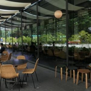 シンガポール 暑い中での観光に疲れたら美味しいコーヒーでひと休み - おすすめカフェ