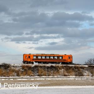 2020冬の津軽鉄道  ここで登場  その9