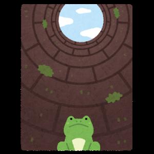 『井の中の蛙にならず【変革】し続けたい(*´з`)』
