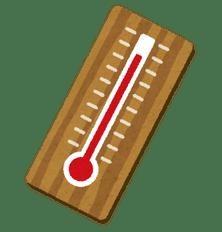 危険な暑さ!!今日は全国6番目に気温が高かったです