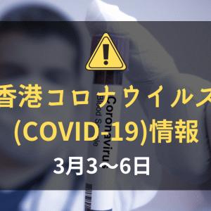 香港の新型コロナウイルス(COVID-19)の状況(2020年3月3~6日):日本政府が香港からの入国者に2週間の待機要請