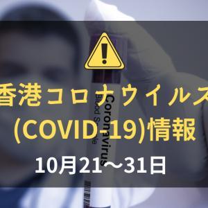 香港の新型コロナウイルス(COVID-19)の状況(2020年10月21~31日):一部防疫措置の緩和がはじまる