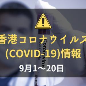 香港の新型コロナウイルス(COVID-19)の状況(2021年9月1~20日):中国マカオ在住の香港ID保持者は隔離なしで香港入境可能に
