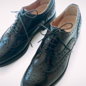 秋の靴、新しい一軍はこの2足。それから、革靴専門店のお姉さんによる靴を慣らすための努力の話。