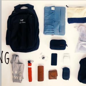 二泊三日の秋の旅、服の数を少なくするコツとパッキング【動画あり】