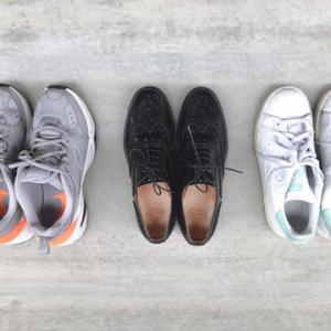 靴選びはバッグ選びと似ていると気づいた。