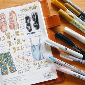 買い替え・買い足しリスト/呉竹ペンセットを使ってみた。