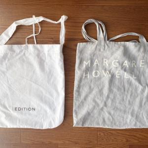 コロナ時代のバッグは、洗えるものを2つ交互に使う。