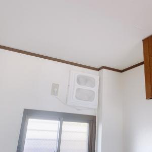 キッチンの換気扇カバーを取り付け。工具一切不要で簡単でした。