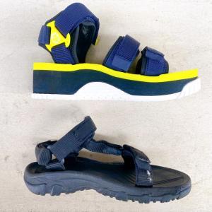 夏の靴は2足。