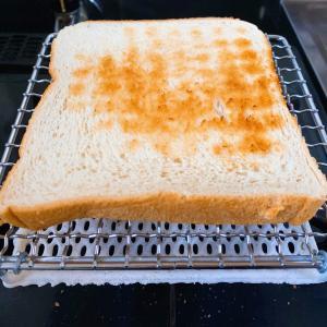 毎日洗うためにパン焼き網を買ったけど、めちゃくちゃパンが美味しくなった。