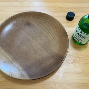 木の皿にオイルを塗って生き返らせた。&サクッと年末中掃除