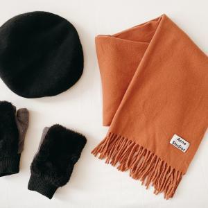 冬の三種の神器ファッション小物編