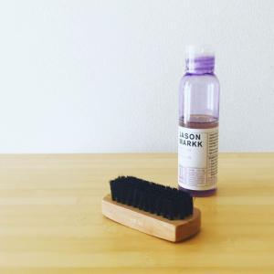 スニーカーを洗う時いつも使っている洗剤JASON MARKKと、shionobuさん式脱水法の話。