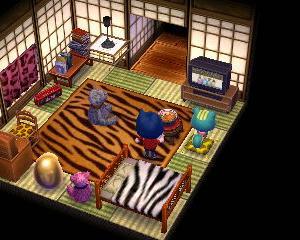 【ハピ森】純和風の家に住んでいる一人娘の部屋が…【ペーター/アルベルト/ガリガリ】