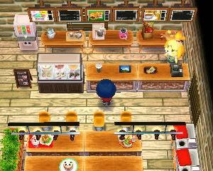 【ハピ森】おしゃれなジャンクフード…ファストフード店を作ってみた!