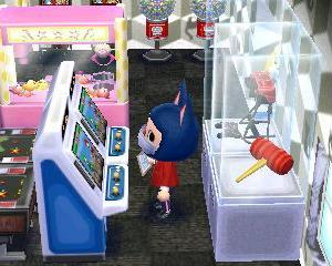 【ハピ森】自由な形式のお店をゲームセンターにしてみた!