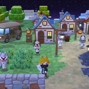 【ポケ森】今回のハロウィンは一味違う!?ゲームの中にいるみたいなキャンプ場!