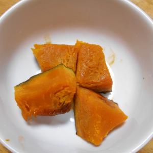 カボチャのオレンジ煮とサツマイモのオレンジ煮(介護食)