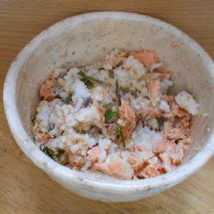 鮭の混ぜご飯(介護食)