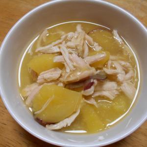 鶏肉とサツマイモのオレンジジュース煮(介護食)