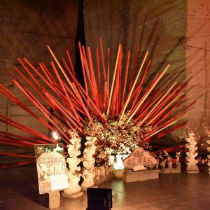 5年ぶりの大谷資料館へ〜假屋崎さんの作品が残されていた