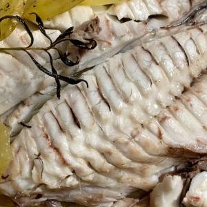 鯛のじゃがいも焼き - Orata al forno con patate -