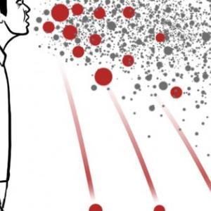 首都圏の感染予想、1人の感染者が鉄道に⇒  1週間で最大12万人に感染拡大!