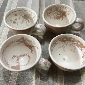 ショック‼️地味〜〜に失敗しました、陶芸カップ。