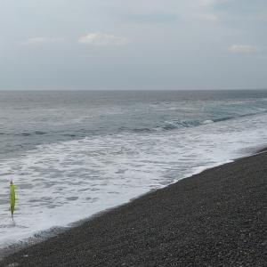 七里御浜 北からの流れから 明日は、南から❓
