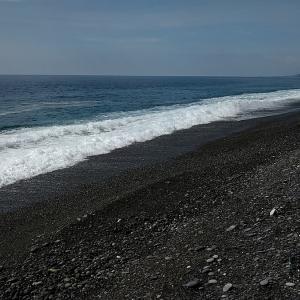 七里御浜 ダメな浜に戻ってしまった❣