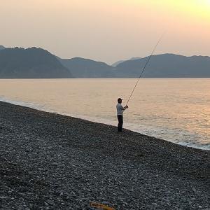 七里御浜 サメに一発食らわしといた❢