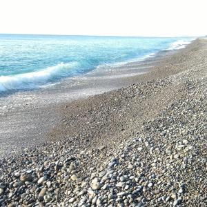 七里御浜 正面からの波ではヒラスズキの居場所が無い❢
