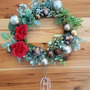 クリスマスリース作りとニトリのクリスマスツリー