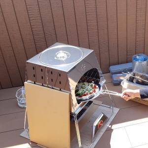 TRUSCOトランクカーゴのテーブルDIYとピザ作り~ベランピング~