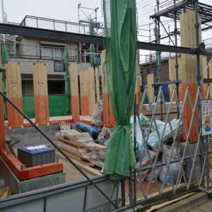 住友林業 2階建 1階柱立ち上げー住宅ギャラリー