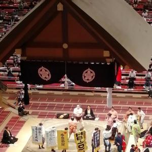 照ノ富士が優勝した大相撲七月場所の千秋楽を両国の国技館で観戦した