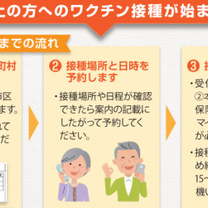 仙台市で新型コロナワクチン接種をインターネット予約する方法