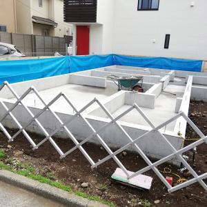睦和建築設計・基礎梁コンクリートHousingTokyo:mutsuwa/foundation girder