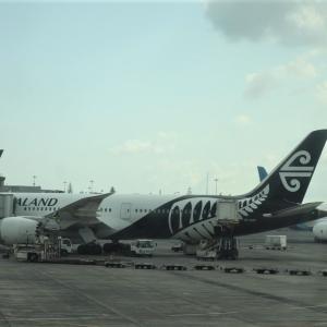 ニュージーランド航空【ビジネスクラス】NZ90便 成田✈️オークランド 搭乗記 特殊な座席配置です